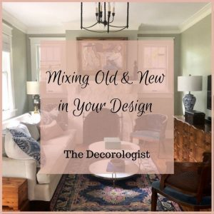 how to mix old and new in your design