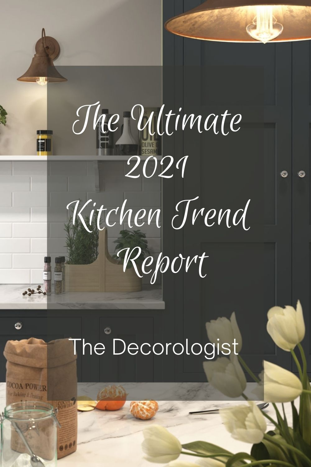 kitchen trends report for pinterest