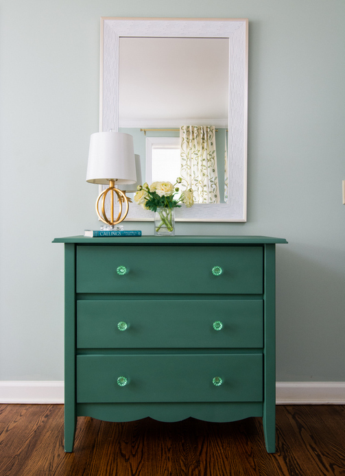 Waterbury Green and Antique Jade by The Decorologist